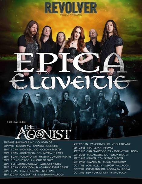 EPica Tour Dates