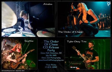 September 2015 Vandala -The Order of Chaos CD Release