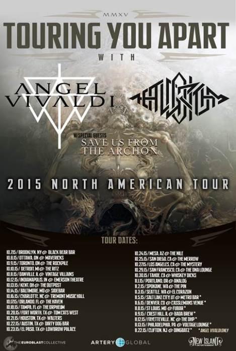 ANGEL VIVALDI Tour