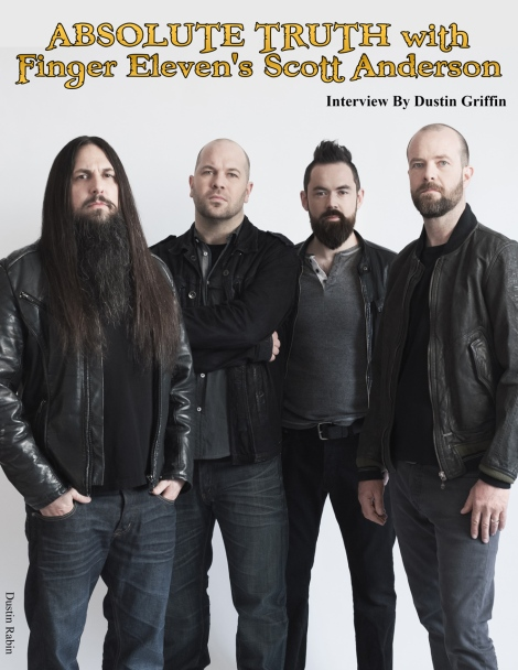 October 2015 Vandala Magazine Finger Eleven Interview