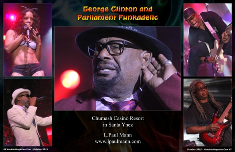October 2015 Vandala Magazine - George Clinton, Photo Credit L. Paul Mann