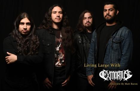 October 2015 Vandala Magazine Interview with Exmortus