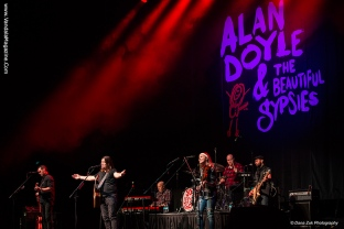 Alan Doyle and Beautiful Gypsies @ Northern Alberta Jubilee Auditorium, Edmonton, Alberta
