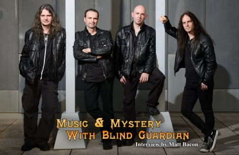 Blind Guardian December 2015 Vandala Magazine