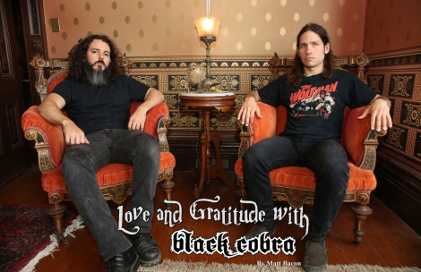 Jan 2016 Vandala Magazine Interview with Black Cobra