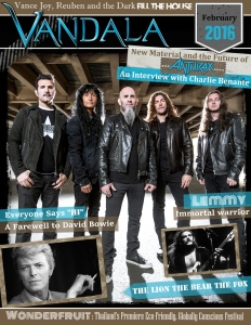 February 2015 Vandala Magazine Cover