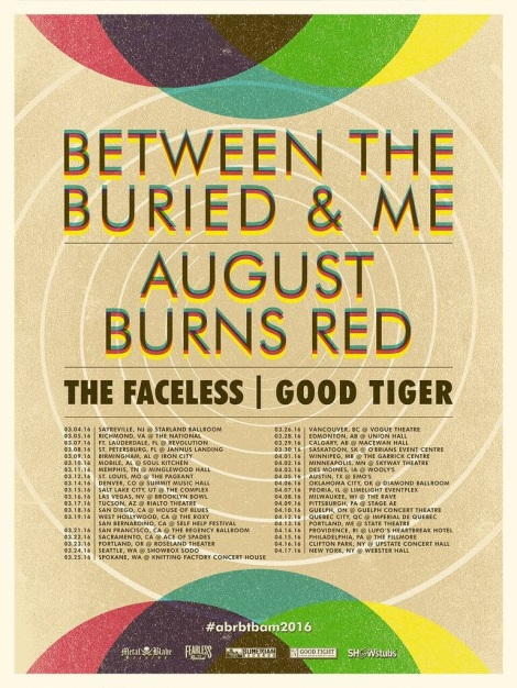 Between The Buried And Me and August Burns Red