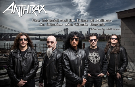 February 2016 Vandala Magazine Cover Interview Anthrax