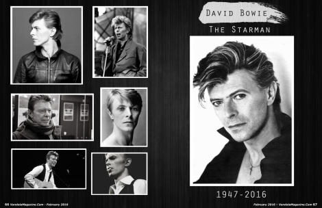 February 2016 Vandala Magazine David Bowie Tribute