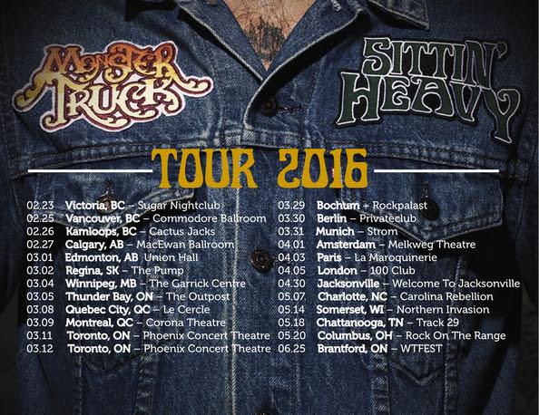 Monster Truck Band Tour