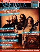 March 2016 Vandala Magazine - Slayer Cover