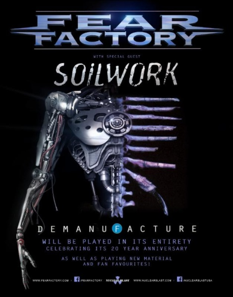 Fear Factory and Soilwork 2016