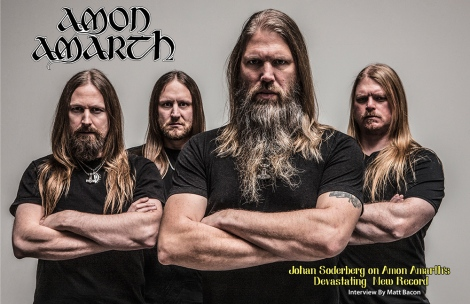 Amon Amarth June 2016 Cover Interview