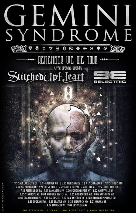 GEMINI-SYNDROME--Tour-w-Stitched-Up-Heart-&-9Electric