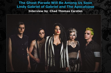 Interview Lindy Gabriel of Gabriel and The Apocalypse August 2016 Vandala Magazine