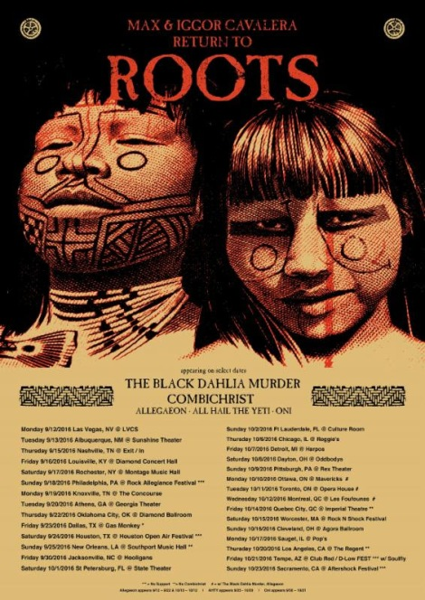 Max & Iggor Cavalera RETURN TO ROOTS Tour