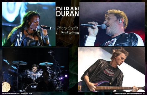 September 2016 Vandala Magazine Duran Duran l paul mann