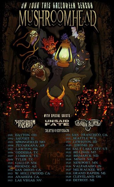 Mushroomhead  Tour