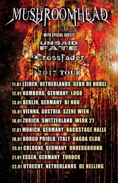 Mushroomhead Europe Tour