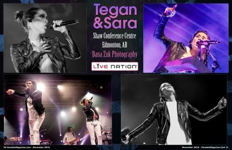 Tegan and Sara Nov. 2016 Vandala Magazine