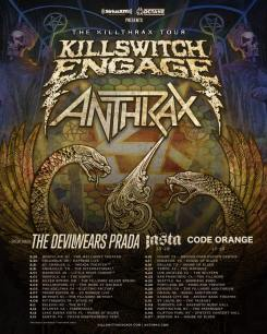 Killswitch Engage, Anthrax