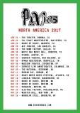 Pixies North American Tour 2017
