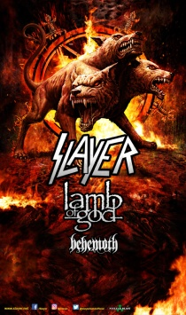 Slayer, Lamb of God, Behemoth