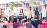 Sanctuary tent yoga Suwannee Rising 2019
